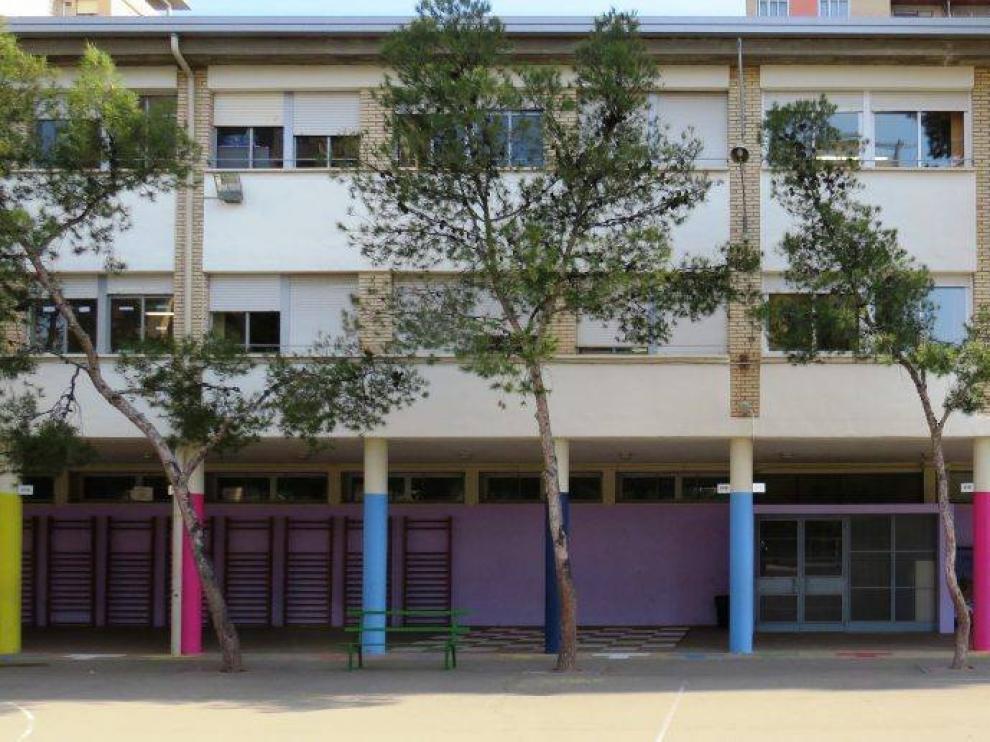 Colegio Margarita Salas (antes, Eliseo Godoy), en Zaragoza.