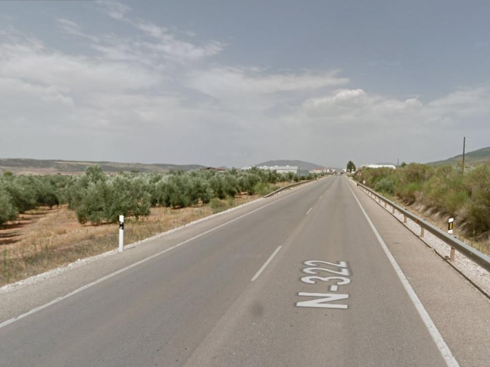 Mueren dos jóvenes en el kilómetro 224 de la N-322 a su paso por el municipio de Puente de Génave (Jaén).
