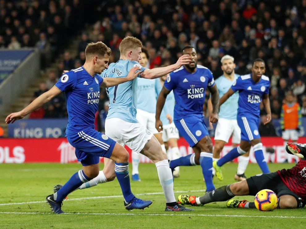 Leicester 2 - Manchester City 1.