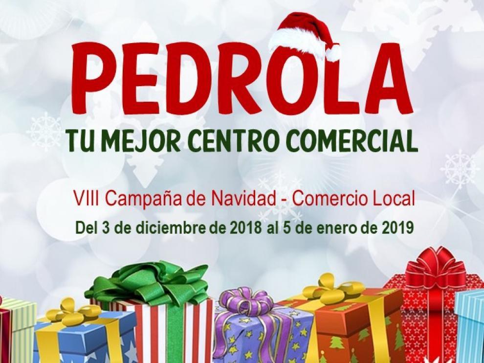 La campaña navideña de comercio local en Pedrola finaliza el 5 de enero.