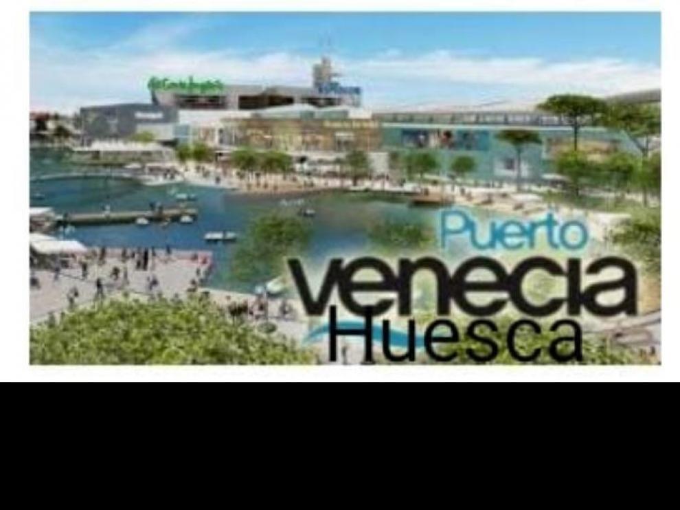 Una inocentada asegura que un oscense agraciado con el Gordo abrirá Puerto Venecia Huesca.