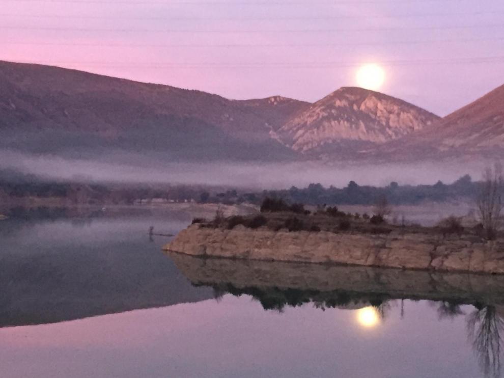 Imagen de archivo de la niebla tomada desde el Peiró. Eduardo Estallo