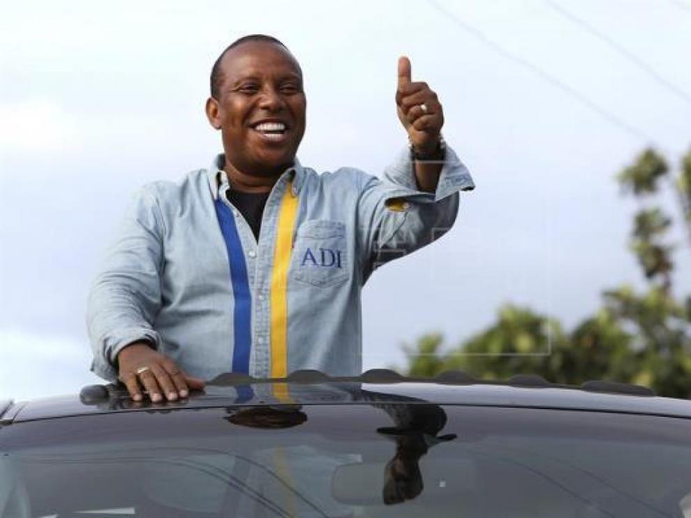 El primer ministro de Santo Tomé y Príncipe, Patrice Trovoada