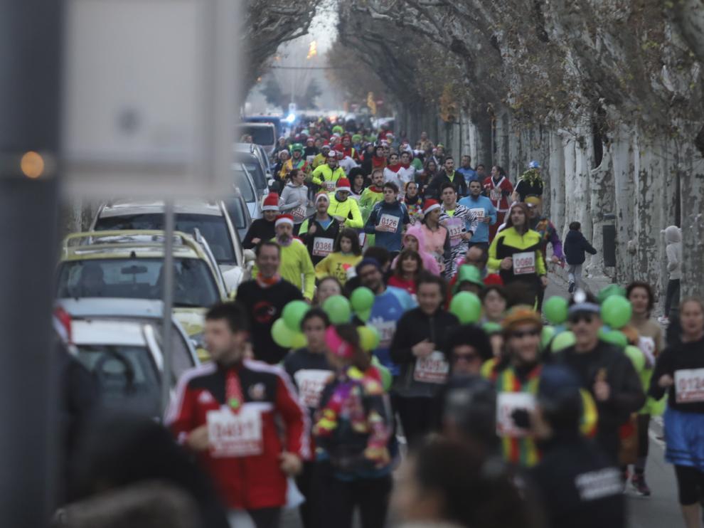 San Silvestre 2018 en Huesca