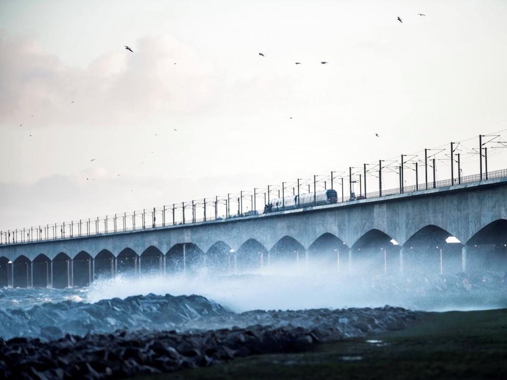 El accidente ha tenido lugar en el puente del Gran Belt.