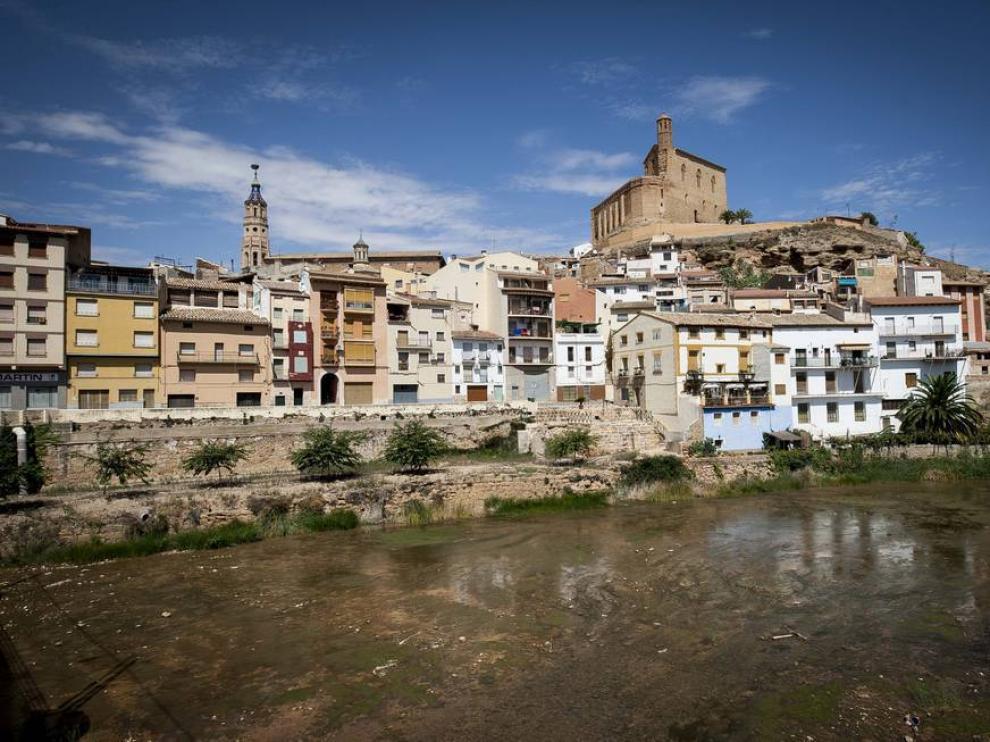 Vista de Albalate del Arzobispo, una de las localidades que más creció en Teruel el año pasado.