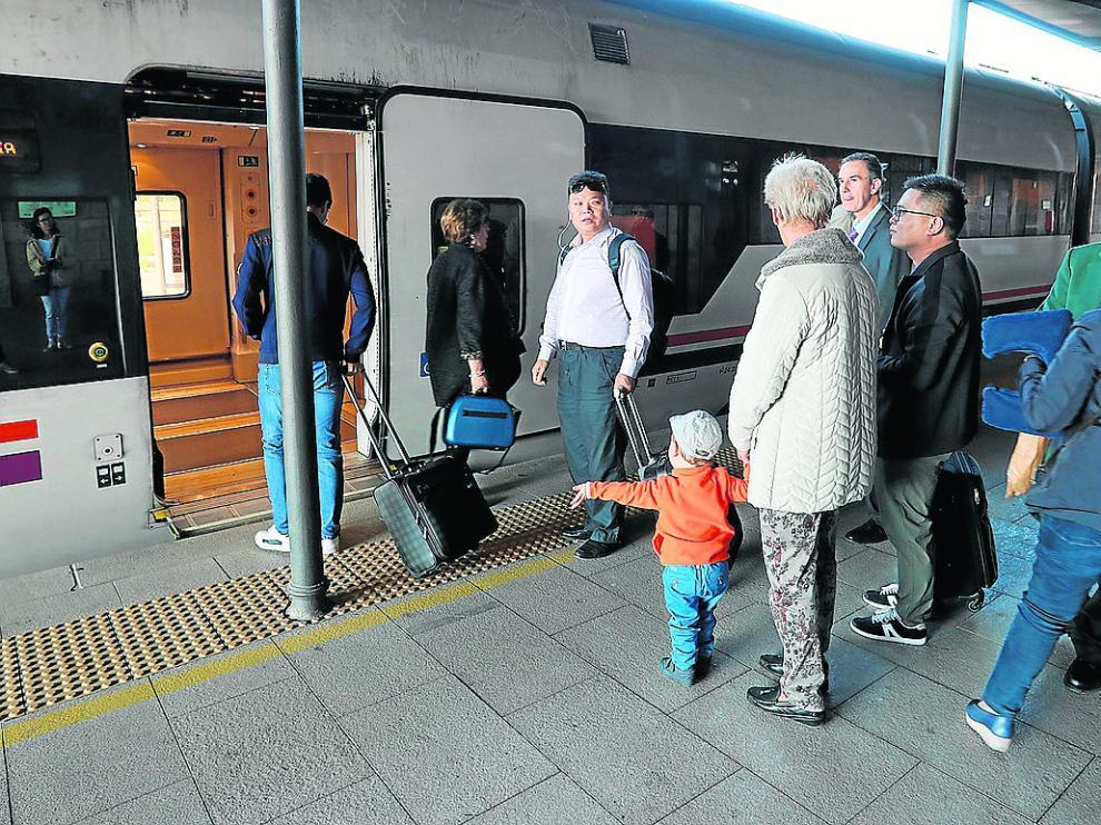 Avería mecánica de un 'tamagotchi' en octubre en la estación de tren de Teruel