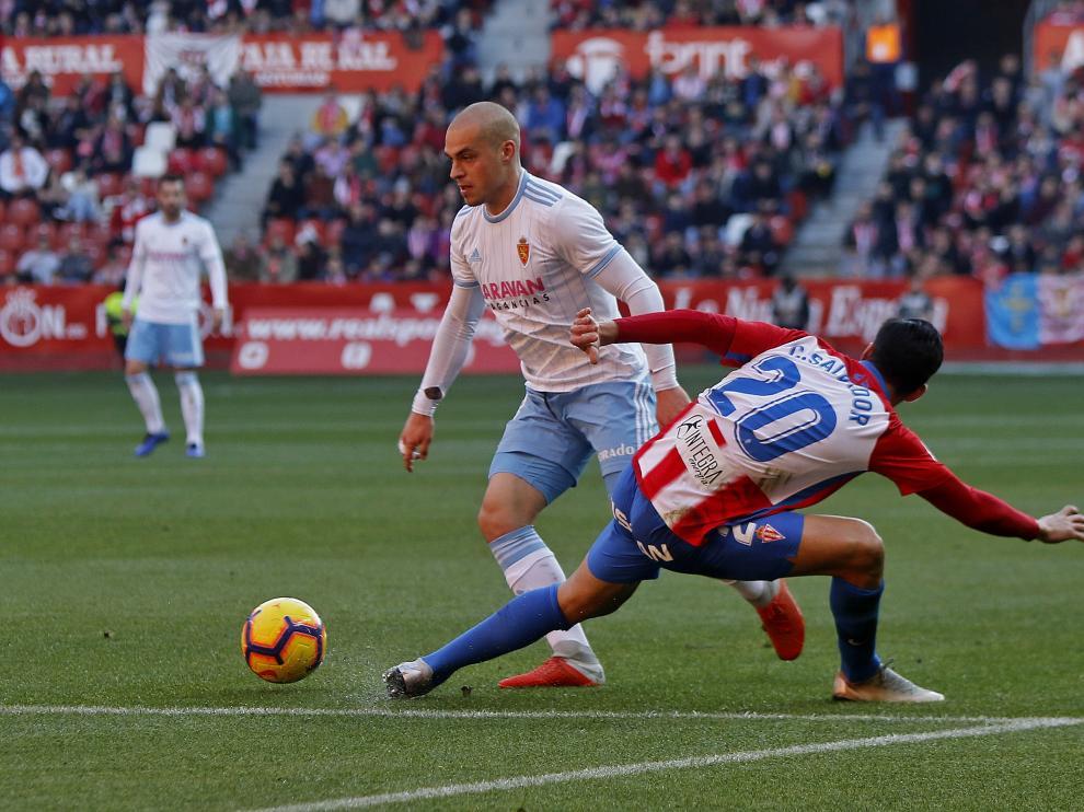 Sporting de Gijón-Real Zaragoza