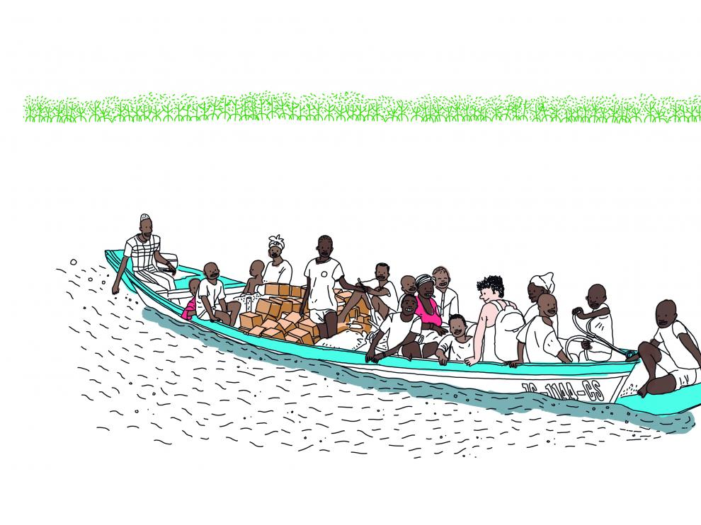 Ilustración del cómic 'La escuela'.