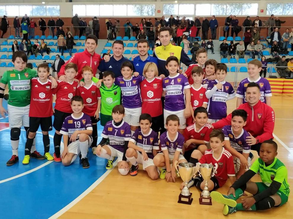 El Equipe Sport se llevó la final Benjamín en medio de un ambiente de gran deportividad.