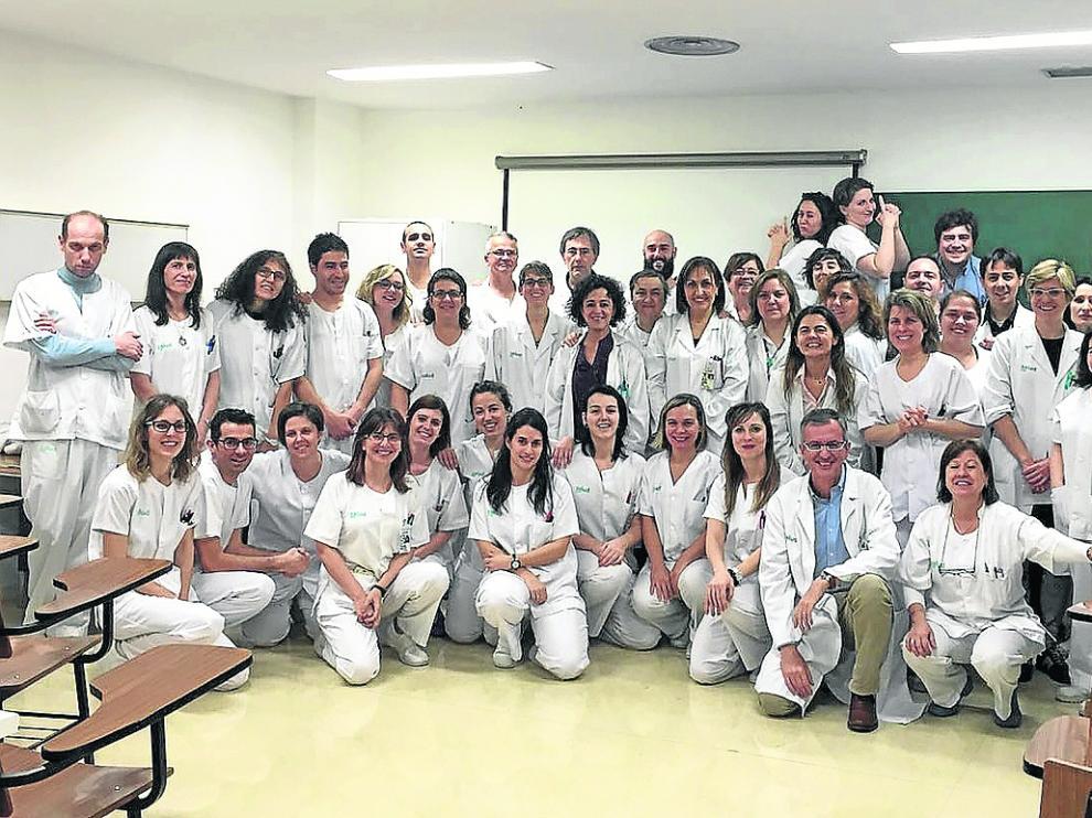 El equipo de Anatomía Patológica del Servet está conformado por unos sesenta profesionales.