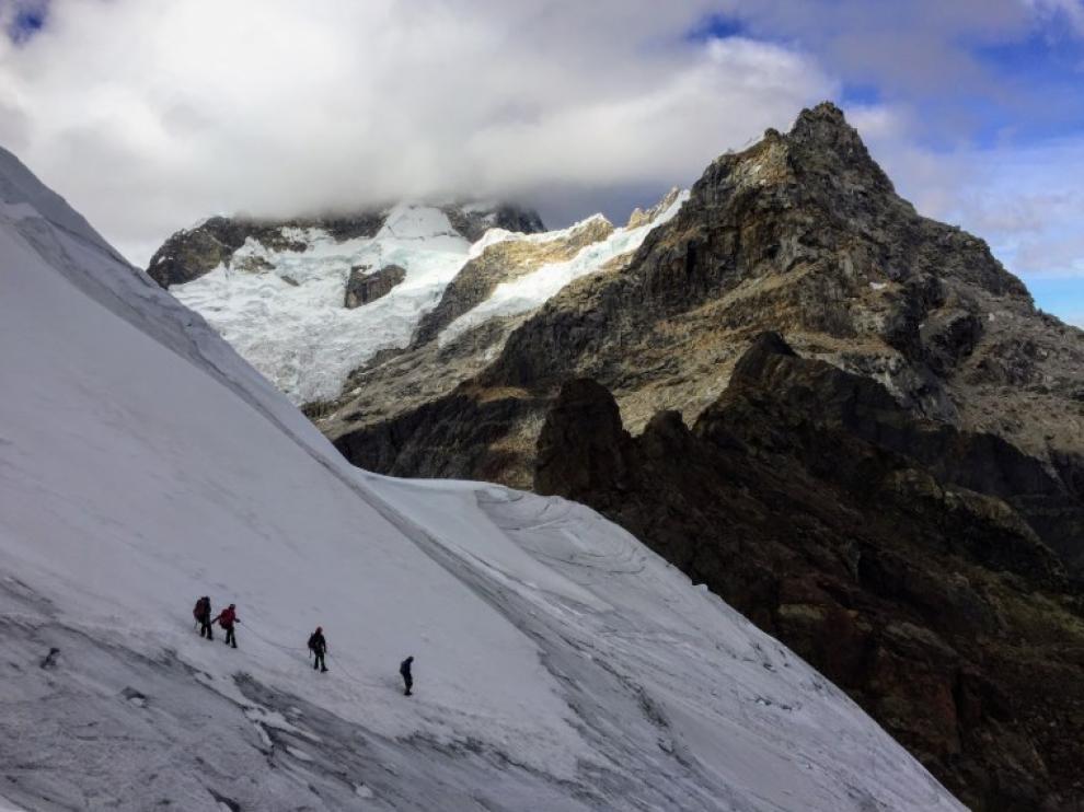 El Nevado Mateo, en Perú.