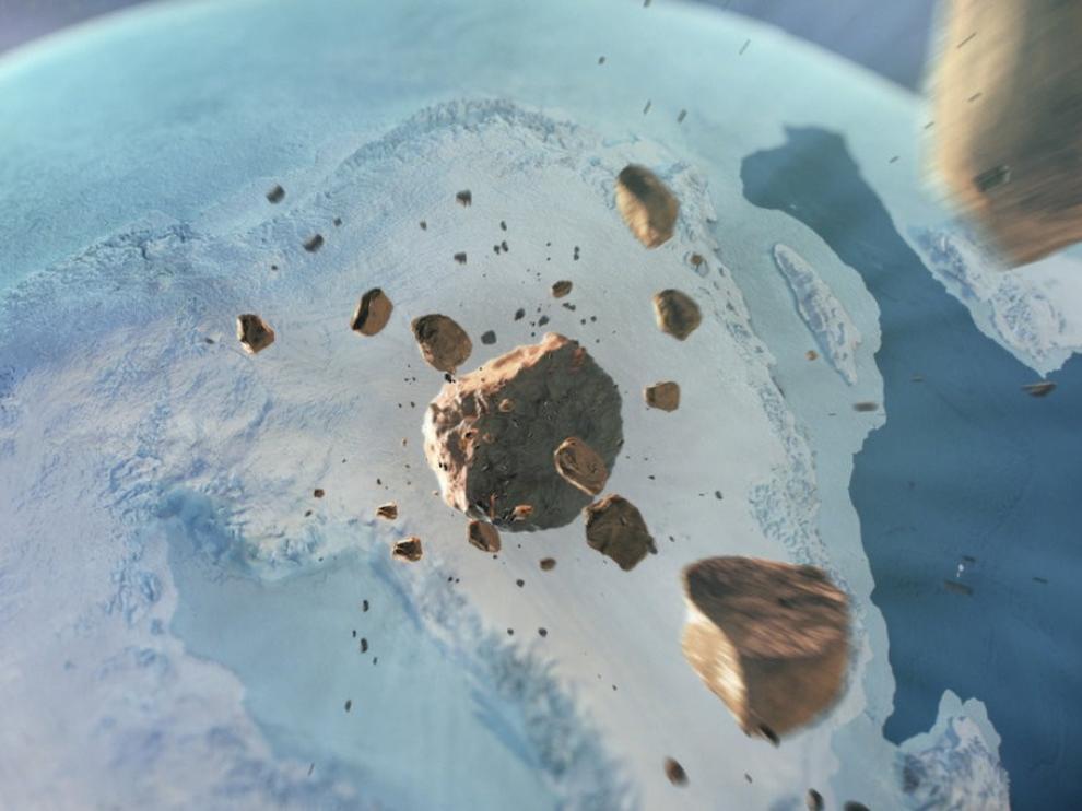 Un asteroide se estrelló en Groenlandia en tiempos geológicamente recientes