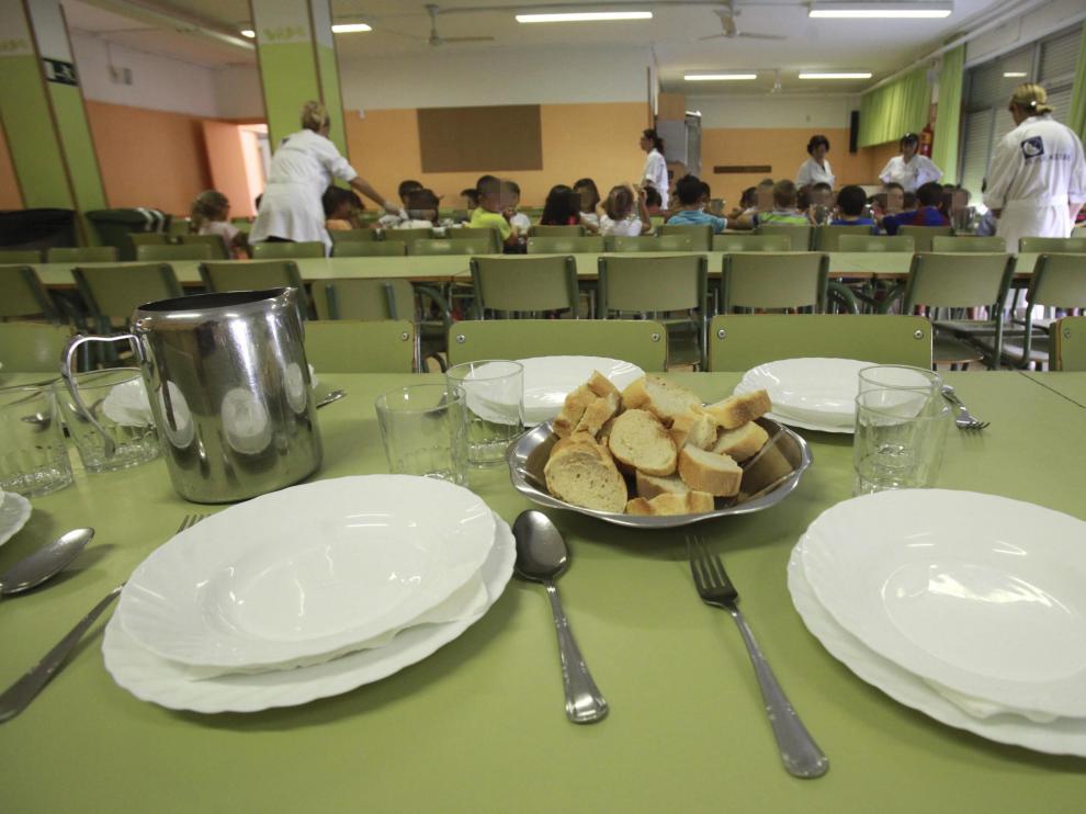 Seis empresas serán las que se encargarán de gestionar los comedores escolares de Zaragoza