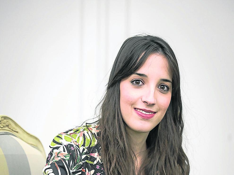 La jueza Carlota Alonso Benito, ayer en Heraldo.