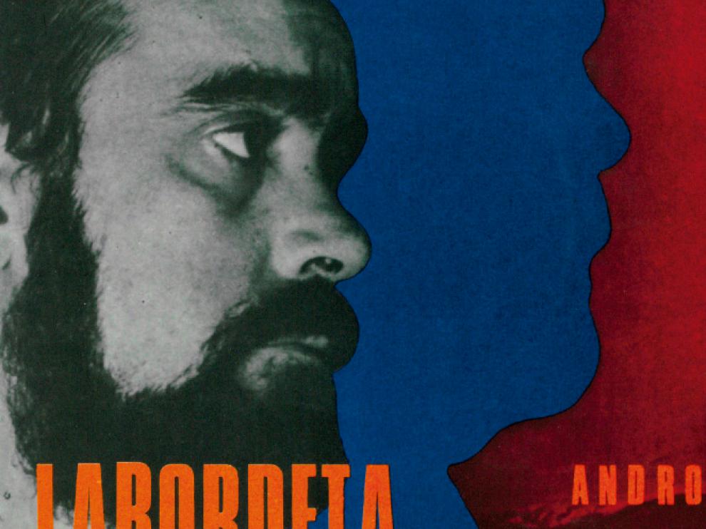 'Andros 2', el primer disco que el cantautor aragonés publicó en 1968 y que fue secuestrado poco tiempo después por orden gubernativa.