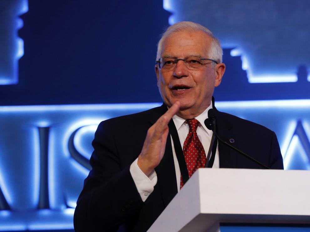 El ministro de Asuntos Exteriores, UE y Cooperación, Josep Borrel.
