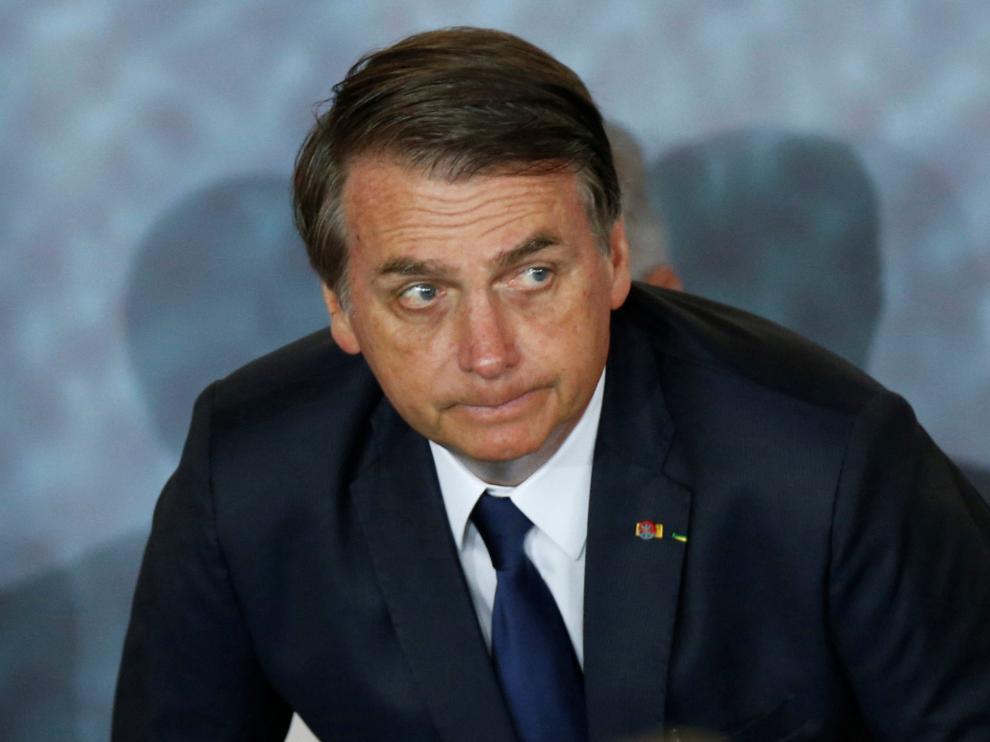 El presidente de Brasil, el ultraderechista Jair Bolsonaro.