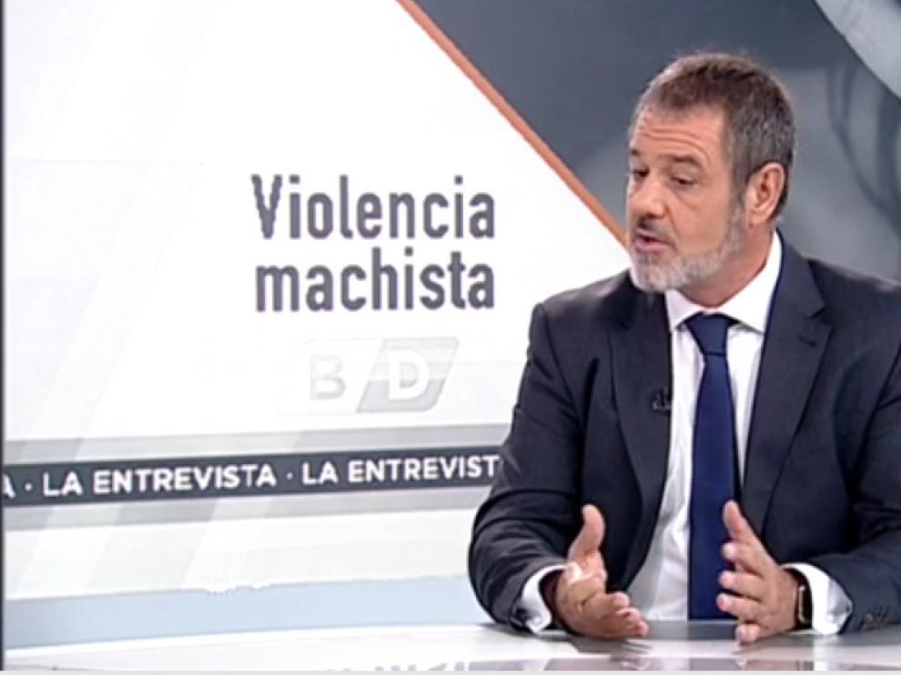 Muñoz, abogado experto en Derecho Penal, en una de sus intervenciones en la televisión autonómica.