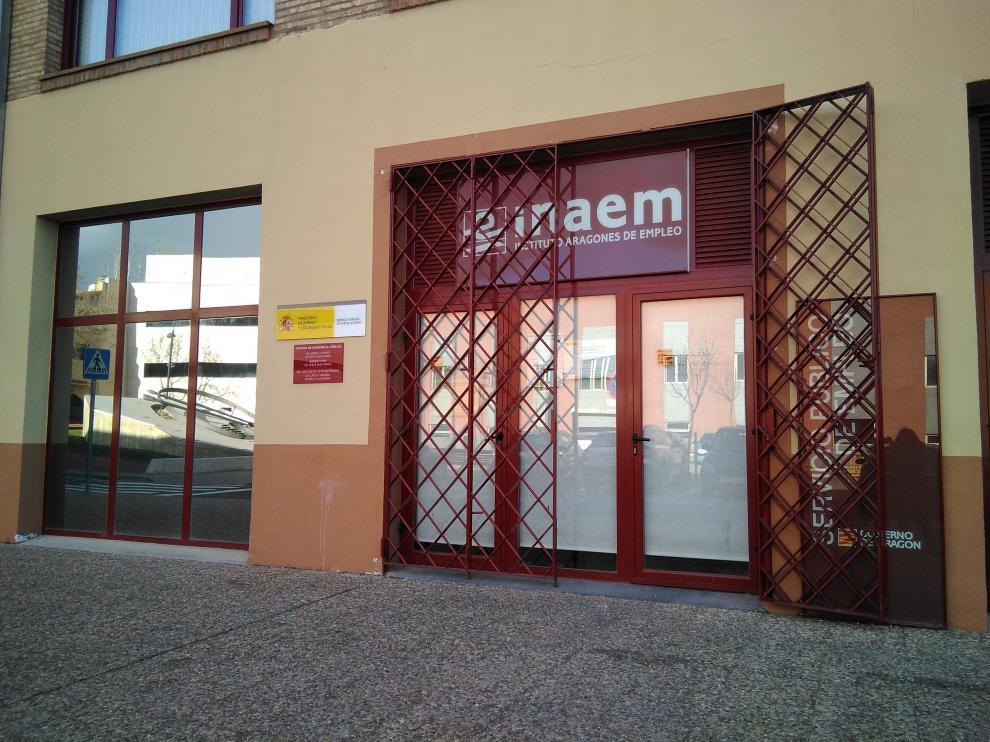 Oficina del INAEM en Tarazona.