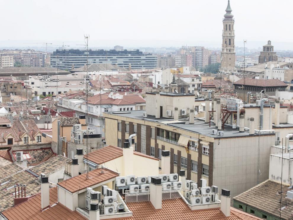 El precio medio de las viviendas de alquiler en Aragón descendió un 2,40 %.