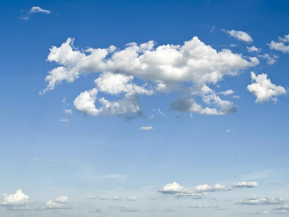 Las nubes no tienen olor a pesar de la cantidad de componentes que las componen.