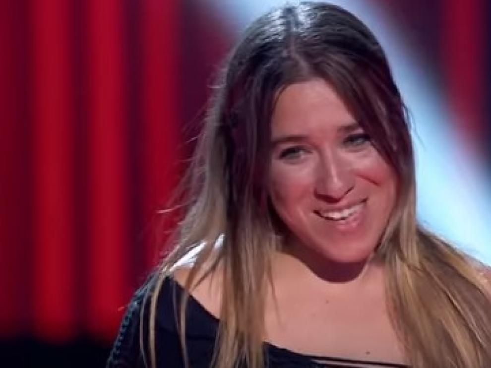 Viky Lafuente, ha nacido una estrella de Aragón en La Voz