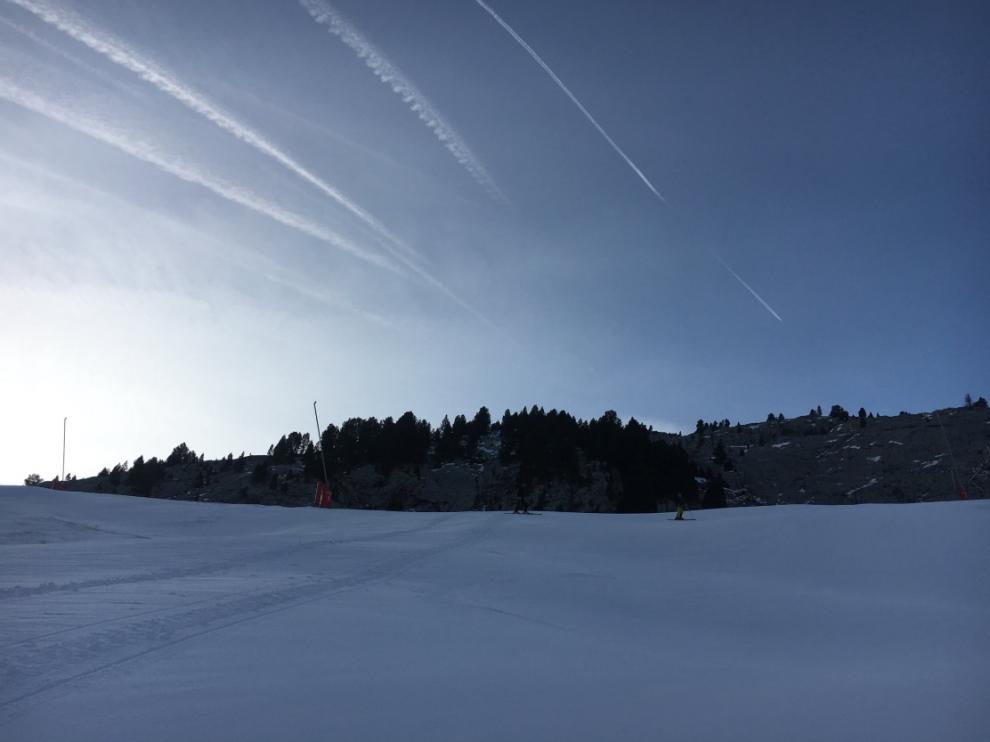Está previsto que nieve en el Pirineo.