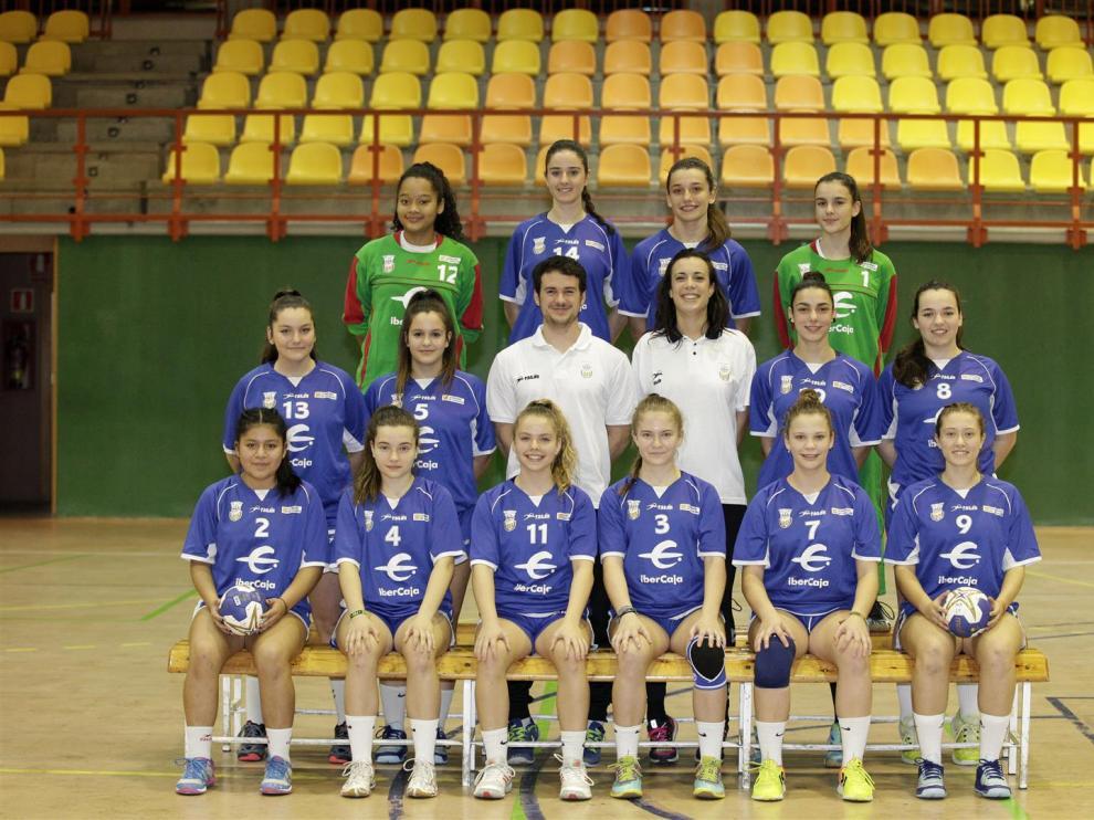 La selección cadete femenina se proclamó subcampeona de la Copa de España
