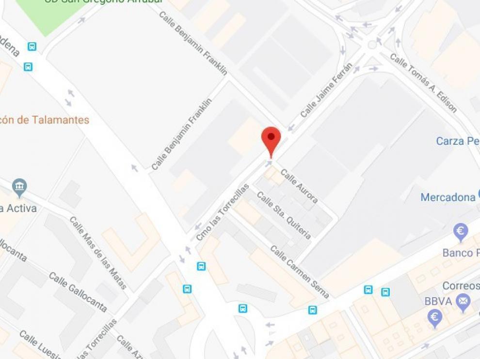 Dos detenidos por robar en el interior de un vehículo en la vía pública