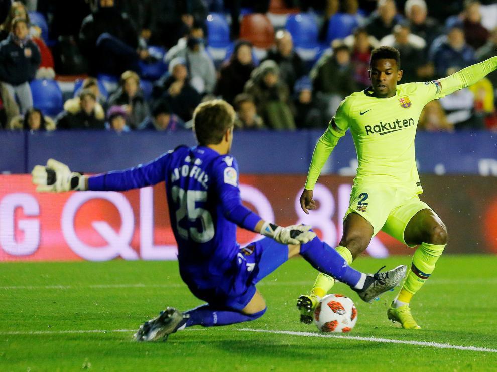 Levante 2 - Barcelona 1.