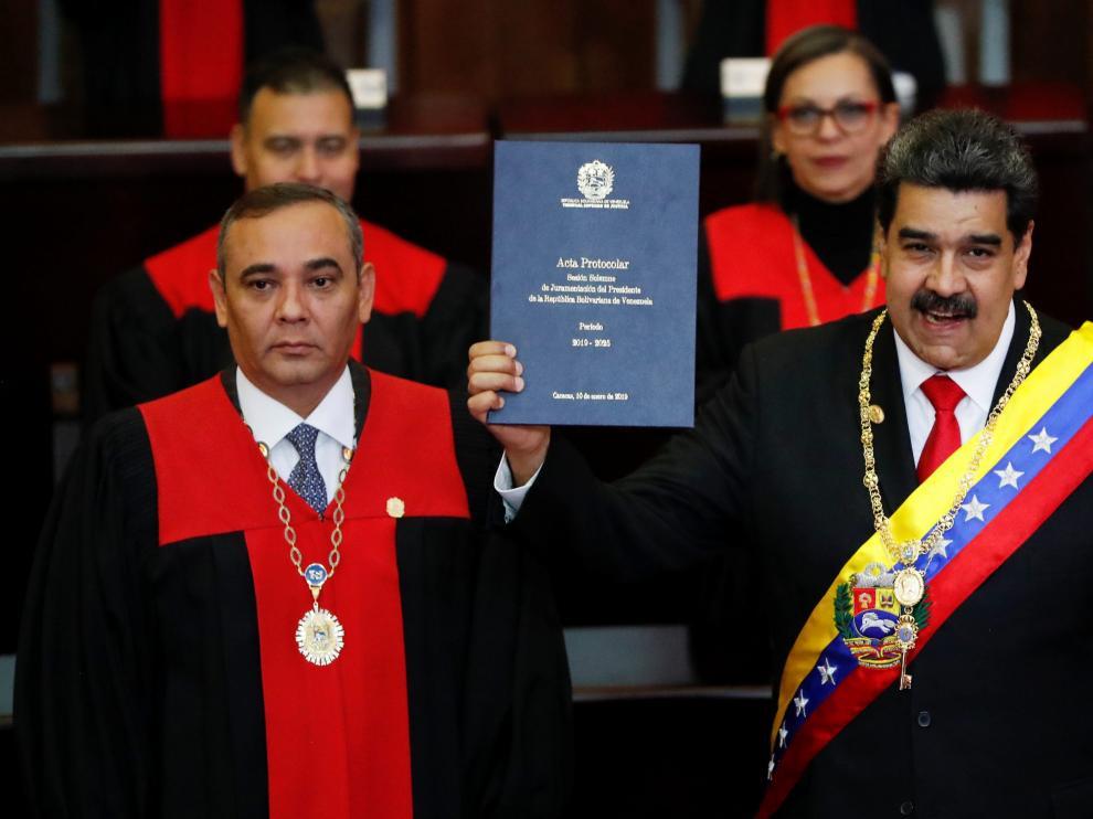 Nicolás Maduro, presidente de Venezuela hasta 2025.