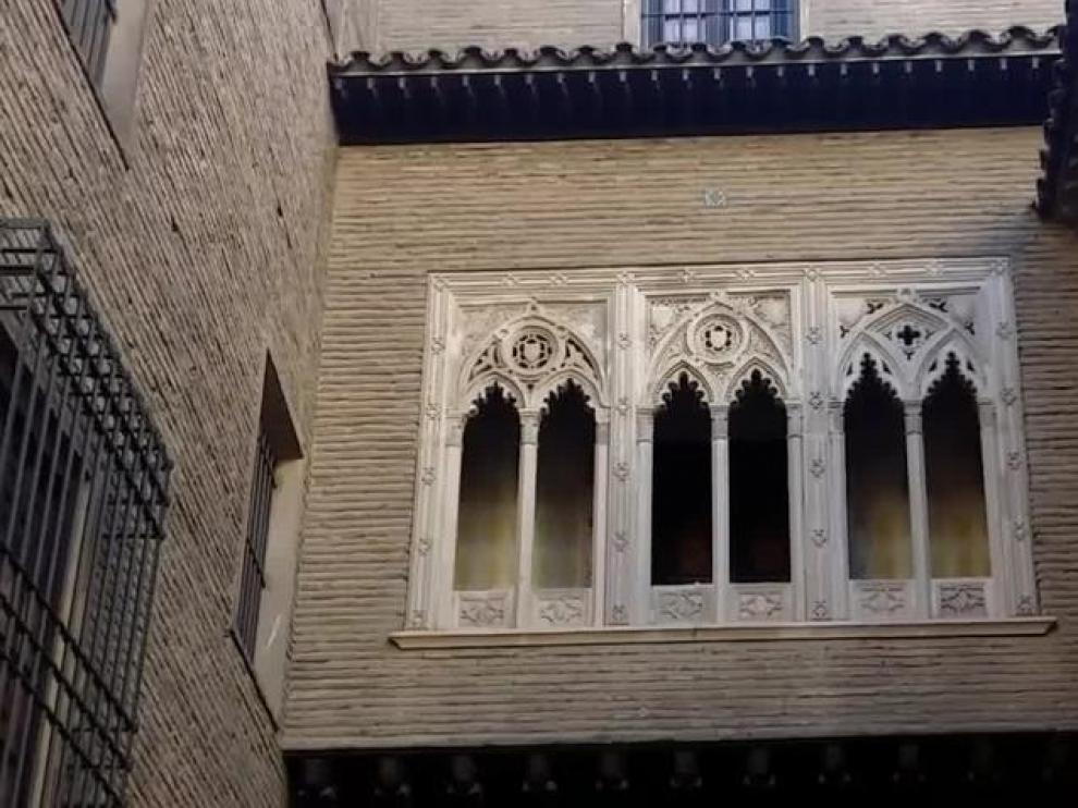 Arco del Deán, rincón zaragozano para inmortalizar