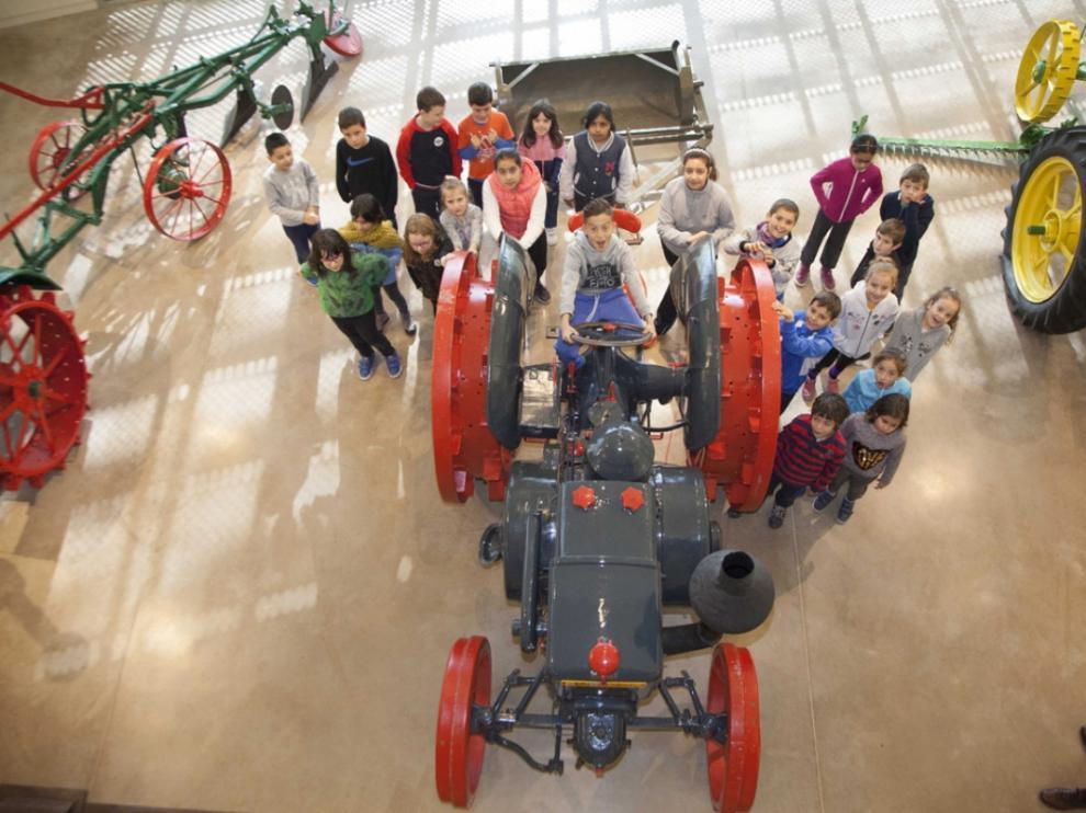 Muchas de las actividades que organiza el museo se dirigen a público infantil.