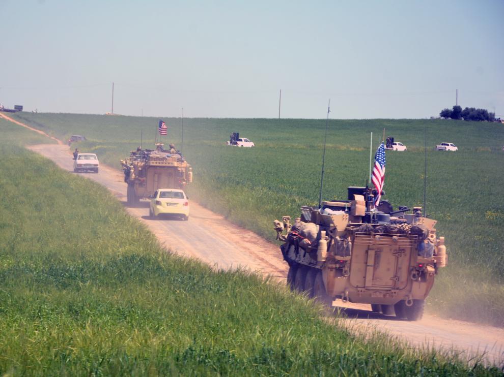 EE.UU. inicia la retirada de sus tropas en Siria.