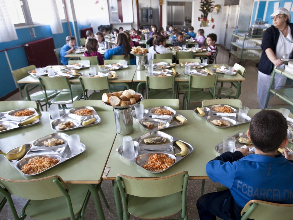 La supervisión de los comedores escolares es una reivindicación de las familias