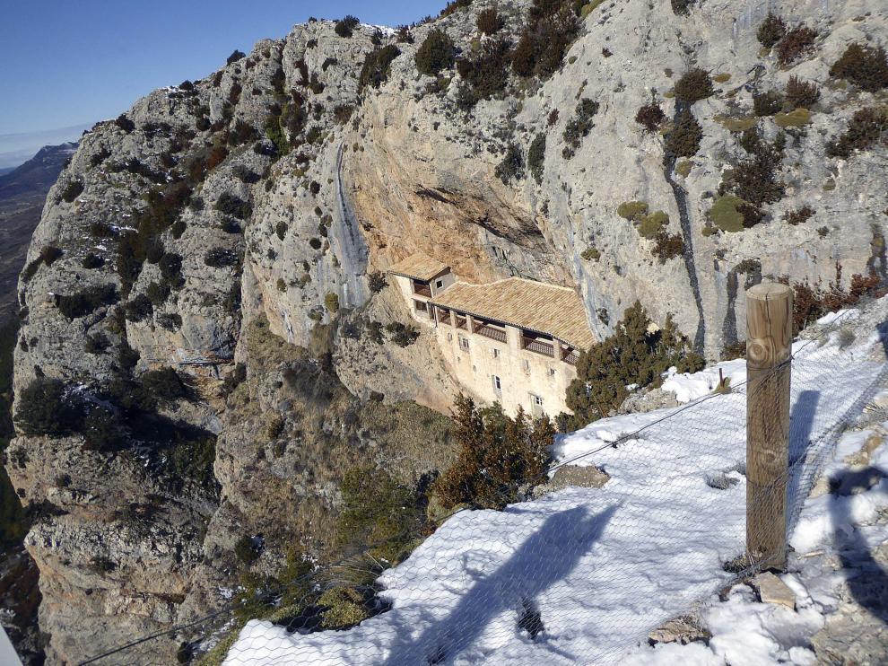 Ermita de la Virgen de la Peña, la roca habitada para la oración.