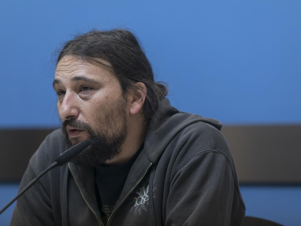 Pablo Híjar, concejal de Vivienda del Ayuntamiento de Zaragoza, en una imagen de archivo.