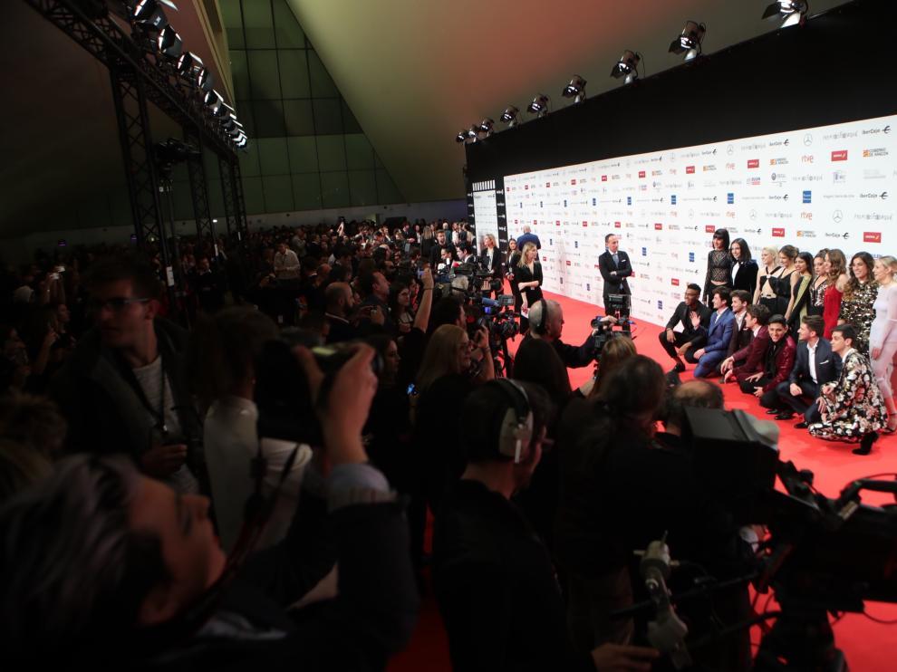 Alfombra roja de los Premios Forqué 2019