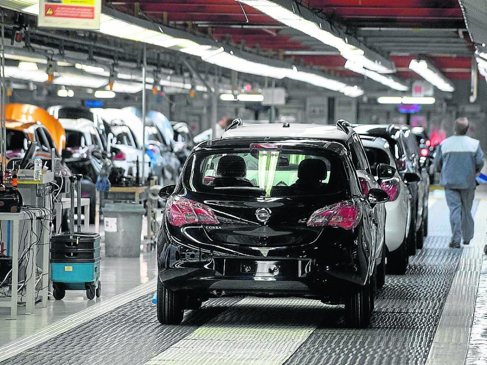 Instalaciones de la planta de Opel.