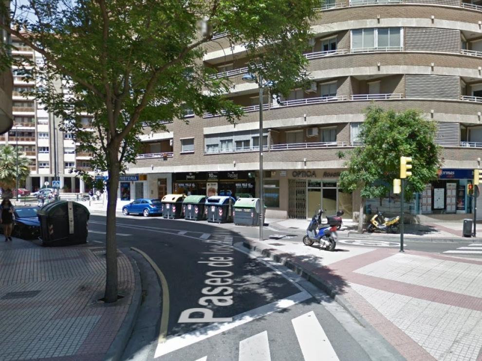 El accidente se ha producido en el paseo de los Rosales, confluencia con la avenida de San José.