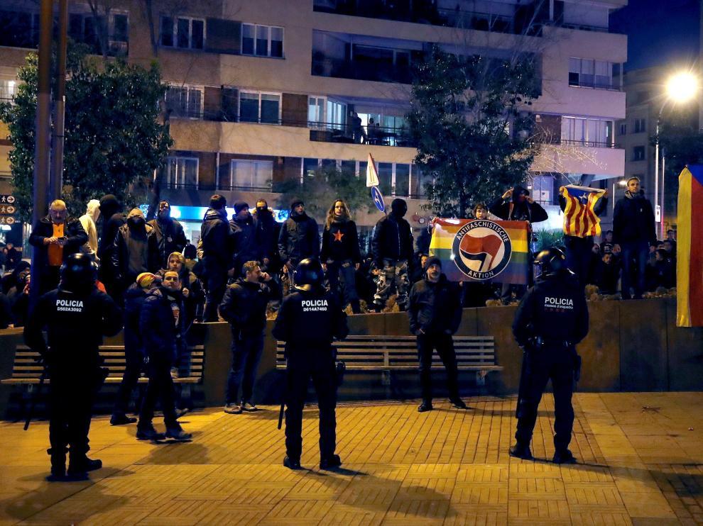 Boicotean un acto de Vox en Barcelona.