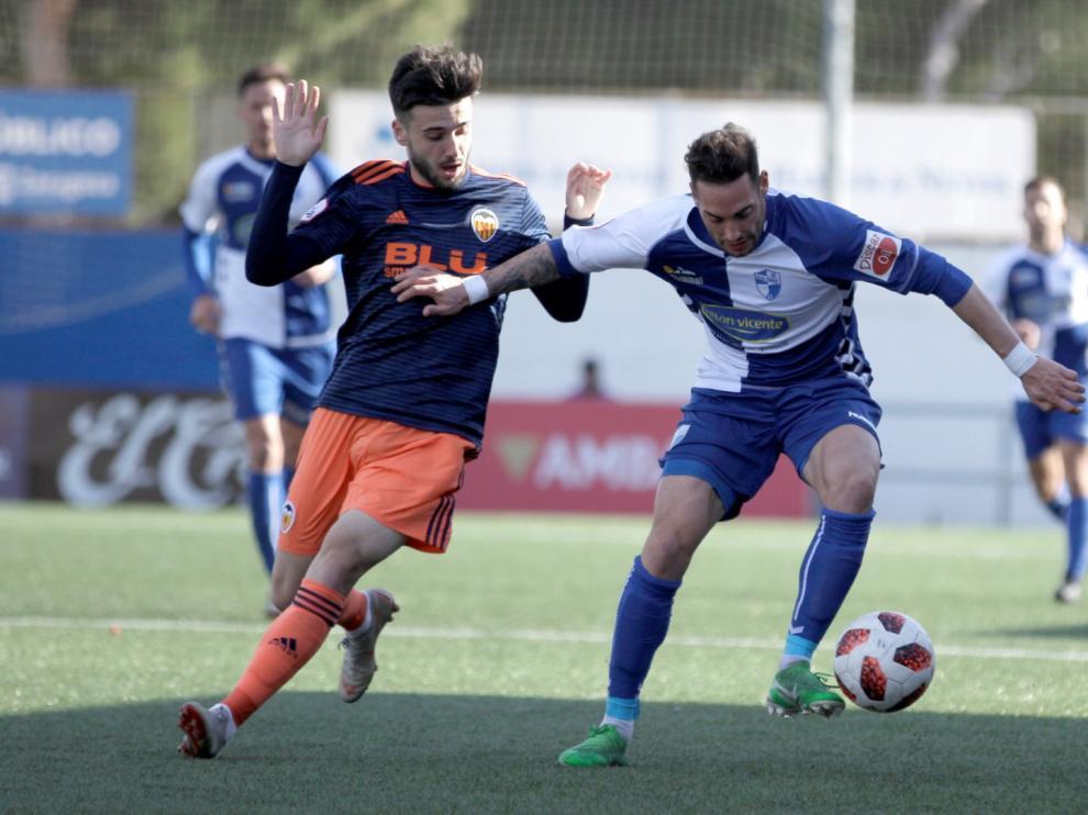 Fútbol. Segunda B- Ebro vs. Valencia B.