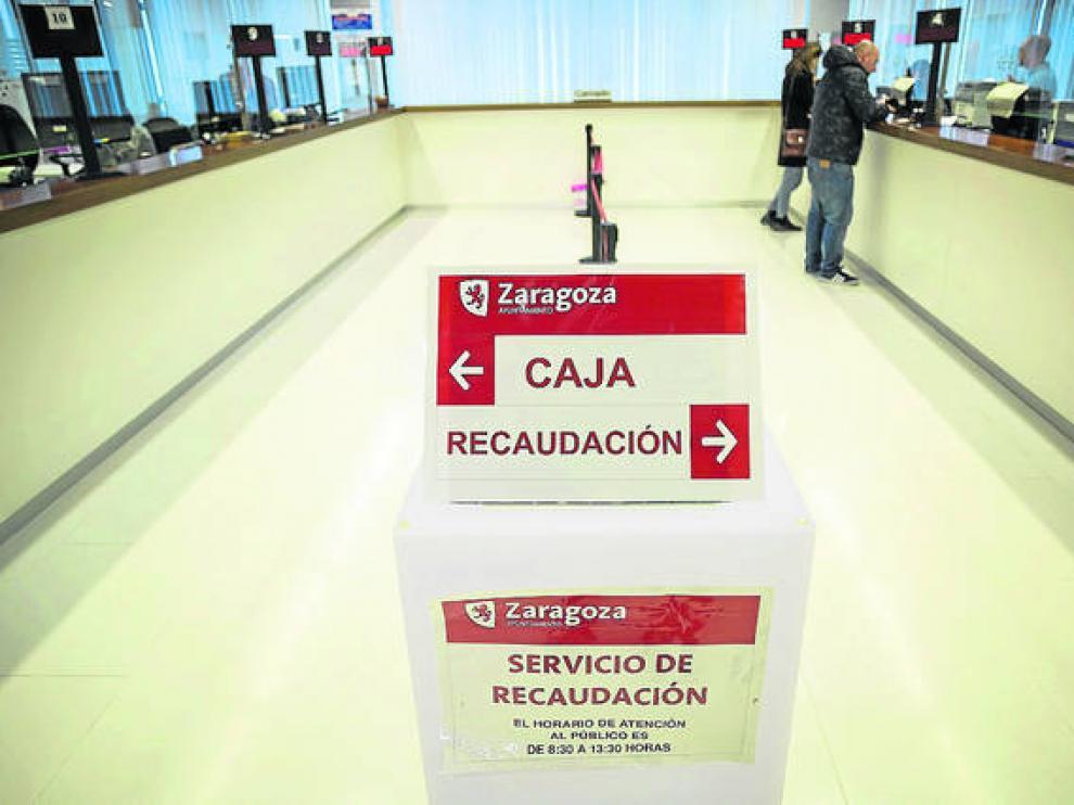 Dependencias de la Agencia Tributaria Municipal del Ayuntamiento de Zaragoza