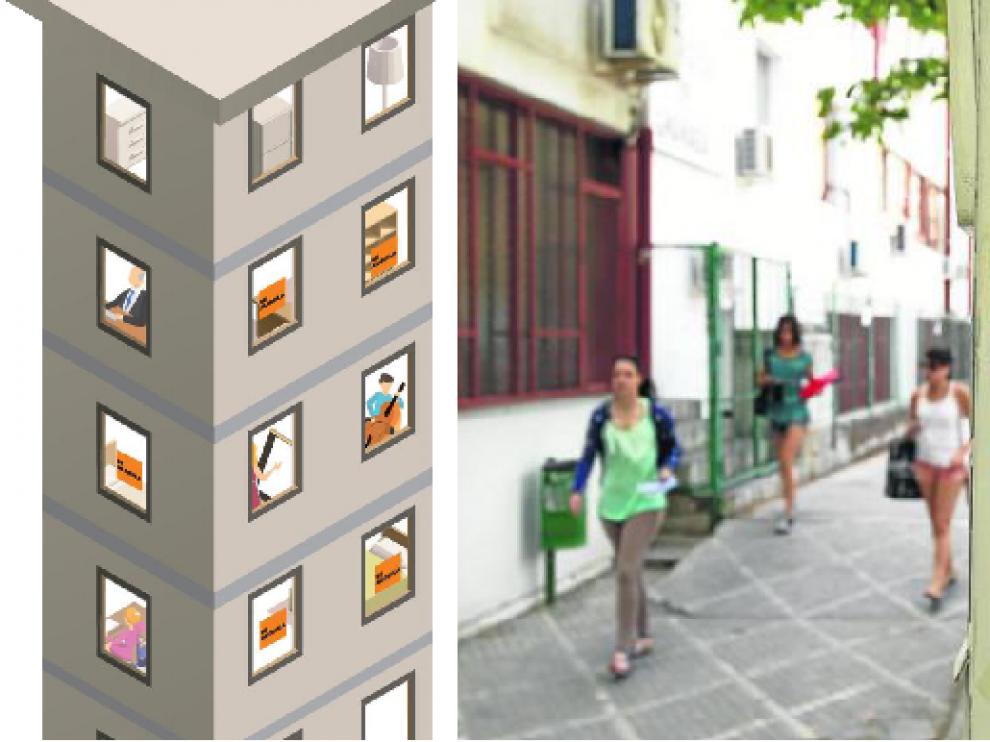 El fenómeno de los pisos compartidos se ha asentado en el mercado.
