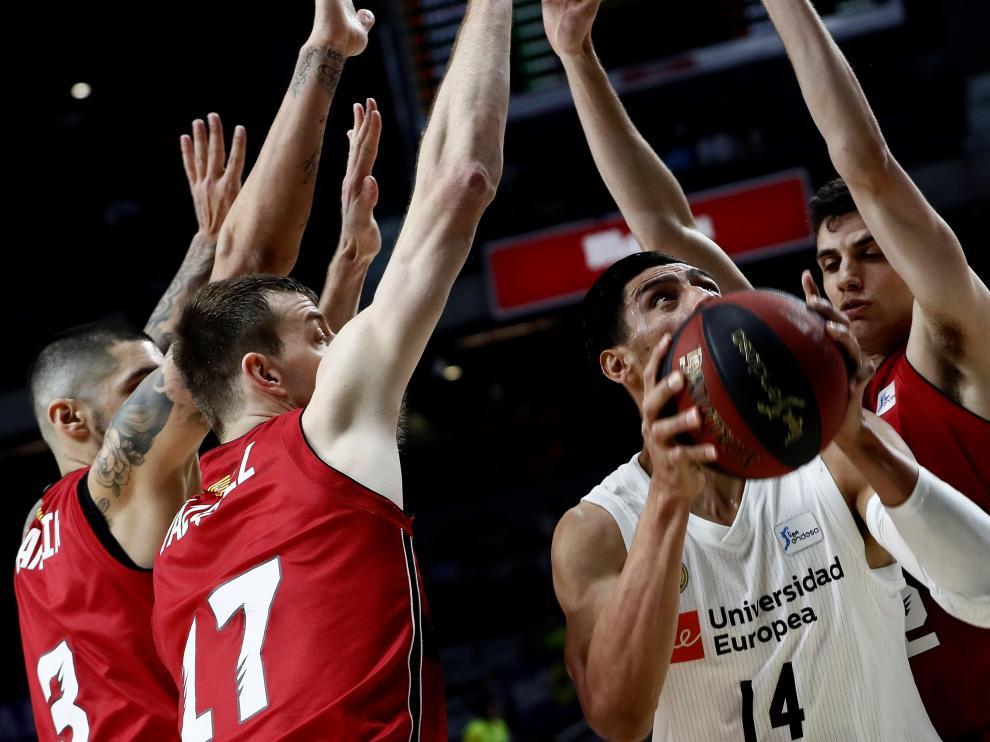 El Tecnyconta asusta al Madrid