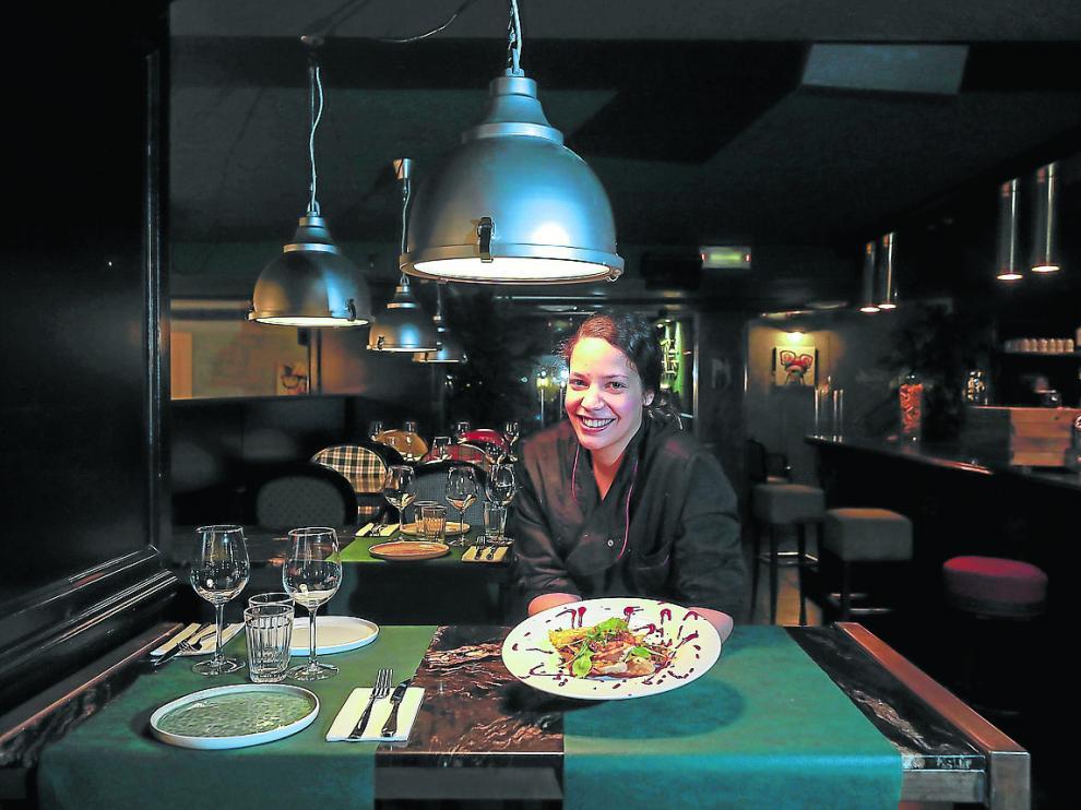 El restaurante ofrece tanto platos de sugerencias como menú del día.