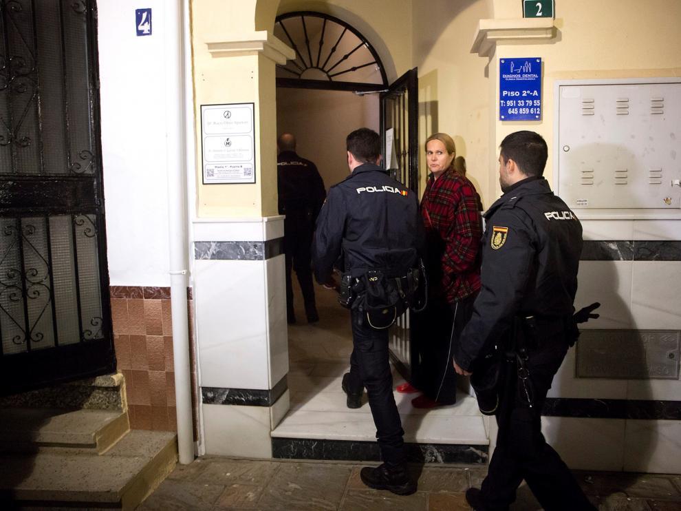 Leonor fue asesinada presuntamente por su expareja en Fuengirola.