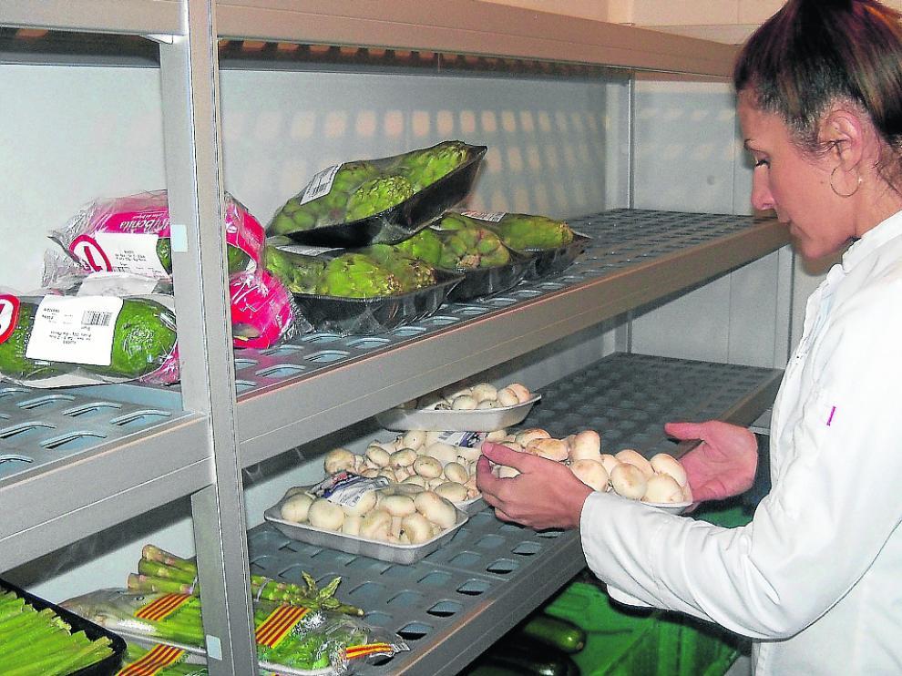 En la empresa ejeana Sobre Tu Mesa utilizan productos locales y, sobre todo, de temporada.