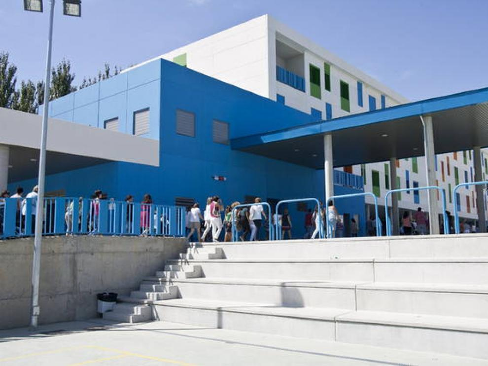 Colegio Miralbueno, ahora centro integrado Río Sena.